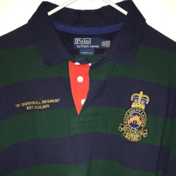 365356d4d VTG 90s POLO Ralph Lauren RL Big Logo BLEEKER ST.  M 5adf5c8a05f430c0a974bdc3. Other Shirts ...